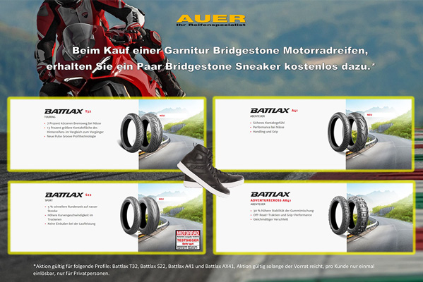 BRIDGESTONE Aktion